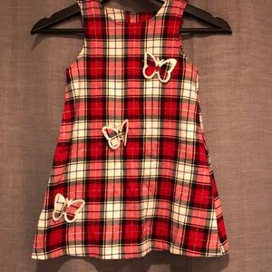 Plaid Butterfly Children's Place Dress